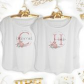 Personalized bridesmaid shirts