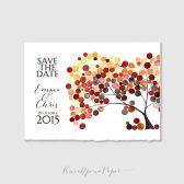 Save the date Printable Wedding Invitation