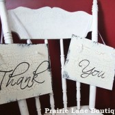 Thank You Wedding Photo Prop Signs