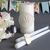 PERSONALIZED Unity Candle Ceremony Set