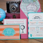 Wedding Invitation: Classical and Vintage Invitation