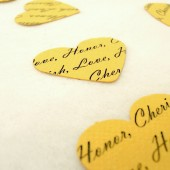 Personalized Confetti Yellow