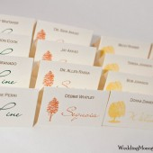 Autumn Escort Cards