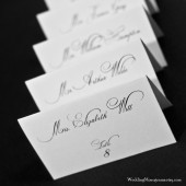 Calligraphy Style Escort Cards