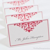 Organic Flourish Escort Cards