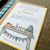 Bridal Shower Invitation: Illustration and Whimsical