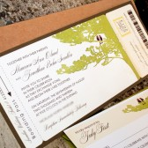 Spring Tree Boarding Pass Invitation