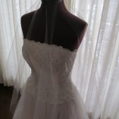 Drop Wedding Veil 50 Inches