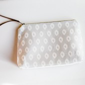 Makeup Bag in Gray