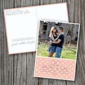 Wedding Save the Date - Photocard, Postcard