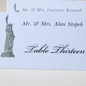 Statue of Liberty Table Numbers