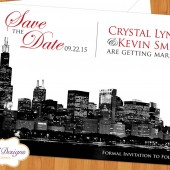 City Skyling Save the Date
