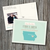 Photo Save the Date Postcard - Printable, Custom