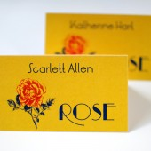 Art Deco Escort Cards