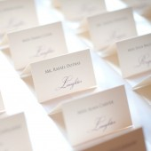 Words of Love Escort Cards