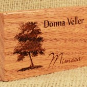 Real Wood Escort Cards