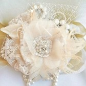 fascinator, wedding headpiece