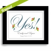 Yes! Engagement Print