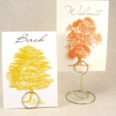 Autumn Tree Table Cards