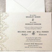 Lace Wedding Invitation set