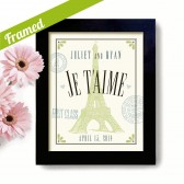 French Wedding Art Print
