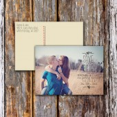 Photo Save the Date DEPOSIT, Rustic, Vintage, Modern, Cute, Sweet, Photography, Picture, Postcard, Wedding, Printable, Custom, Simple, 2014
