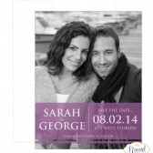 Modern Photo Save the Date for Wedding