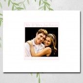 Photo wedding guest book alternative, unique ideas, wedding date, mr and mrs, canvas