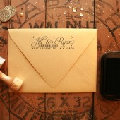 Glamorous Return Address Stamp
