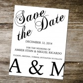 Save the Date DEPOSIT