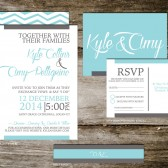 Wedding Invitation Suite Set