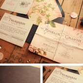 Vintage Rustic Invitations