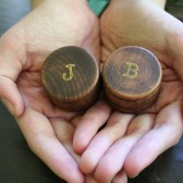 Personalized wedding ring boxes, wooden ring box, ring bearer