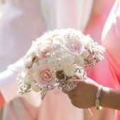 Soft White & Blush Alternative Bouquet