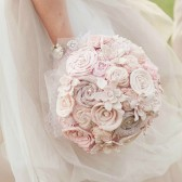 Signature Ombre Blush Bride's Bouquet