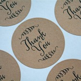 Wedding favor labels, stickers,Thank You labels