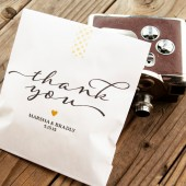 Vintage Thank You Bags