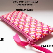 20% OFF/ Bridesmaid Gift bag/ wedding clutch pouch purse/ handmade bridal clutch/ valentine's day SALE