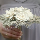 Small Soft White Alternative Bouquet - Soft White Collection