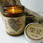personalized candle, wedding candle, custom candle, scented candle, candle favor, soy candle