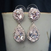 Sparkly Cubic Zirconia Earrings
