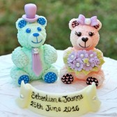 Best cake topper, wedding cake topper, cute cake topper, hand made cake topper