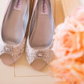 Lace Wedding Shoes Wedge Heel