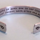Stepmother hidden message cuff