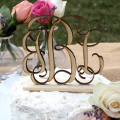Rustic Wedding Cake Topper - Personalized, Rustic, Country, Shabby Chic Wedding, Monogram Cake Topper, Wood