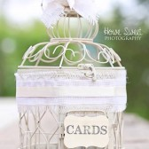 Wedding Birdcage, Rustic Wedding, Birdcage Card Holder, Small Bird Cage, Wishes/Advice/Love Notes/Cards, Baby Shower, Bridal Shower