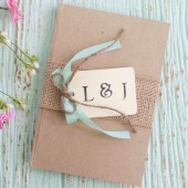 Burlap Wedding Guest Book - Personalized, Woodland, Rustic Wedding Book, Custom Colors