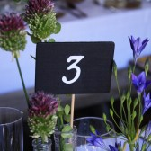 Rustic Wedding Chalkboard Signs, Set of 12, Table Numbers, Candy Buffet