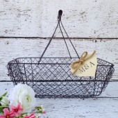 Wedding Card Basket, Rustic Chic Wedding, Rustic Card Box - Personalized, Wooden Heart Banner
