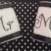 Mr and Mrs Napkin Holders